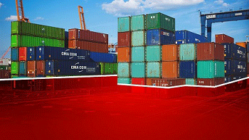 Red-Container-Powerpoint-background-template